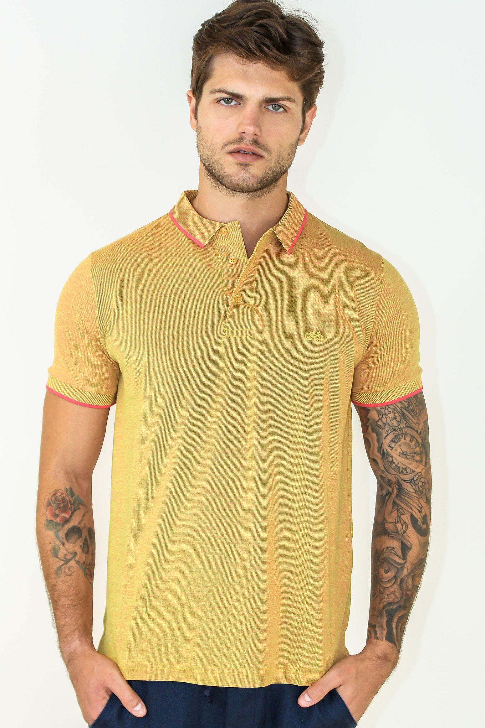02b58e3fe1 Camisa Polo Slim